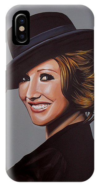 Estate iPhone Case - Carice Van Houten Painting by Paul Meijering