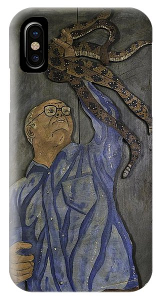 Carl Porter - Serpent Handling Preacher IPhone Case