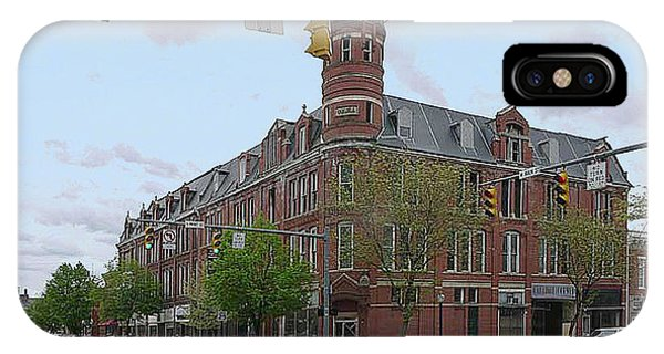 Carlisle Building -  A Chillicothe Landmark IPhone Case