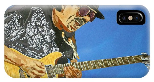 Carlos Santana-magical Musica IPhone Case