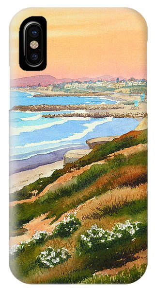 Carlsbad Coastline IPhone Case