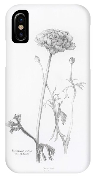 Carlsbad Ranunculus IPhone Case
