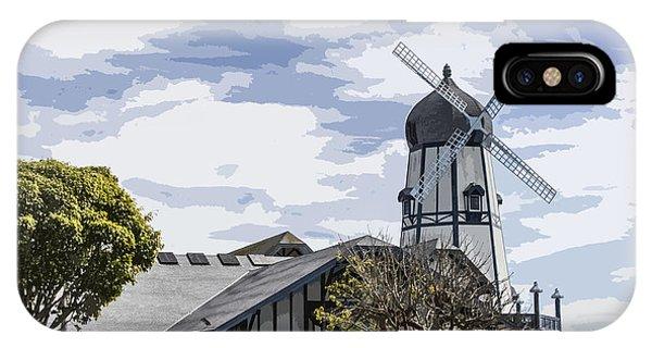 Carlsbad Windmill IPhone Case