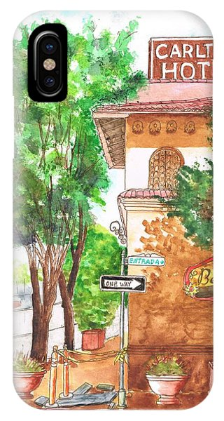 Carlton Hotel En Atascadero - California IPhone Case