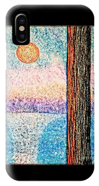 Carmel Highlands Sunset IPhone Case