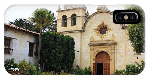 Carmel Mission Church IPhone Case