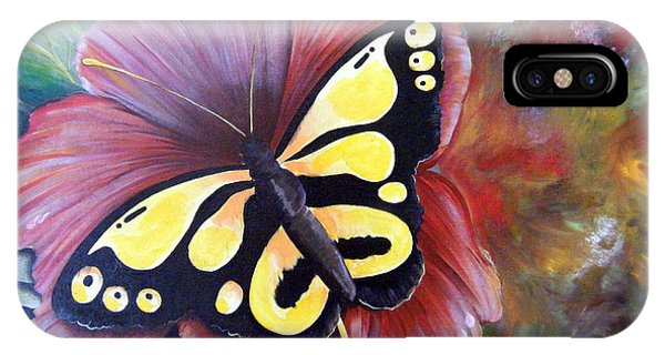 Carnival Butterfly IPhone Case