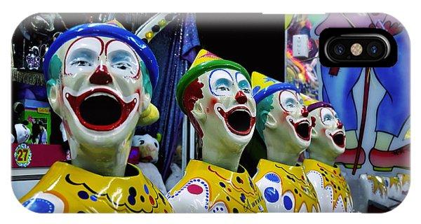 Carnival Clowns IPhone Case