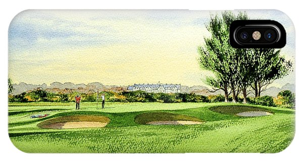 Carnoustie Golf Course 13th Green IPhone Case
