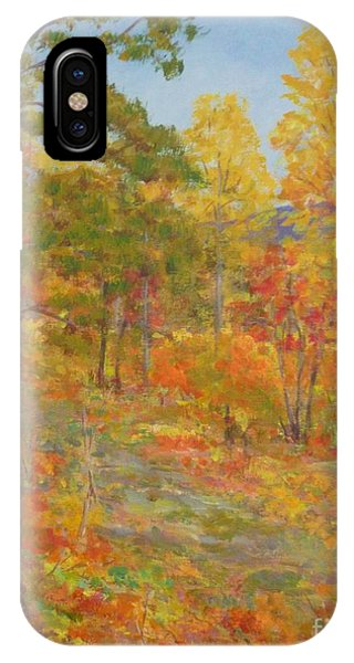 Carolina Autumn Gold IPhone Case