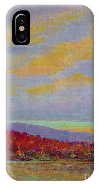 Carolina Autumn Sunset IPhone Case