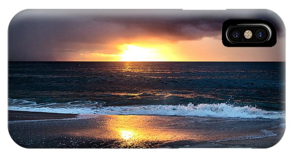 Carolina Beach October Sunrise IPhone Case