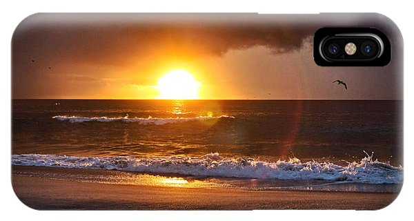 Carolina Beach Sunrise IPhone Case
