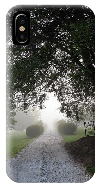 Carolina Foggy Morning IPhone Case