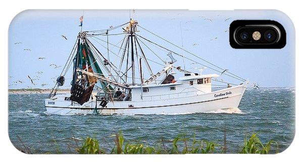 Carolina Girls Shrimp Boat IPhone Case