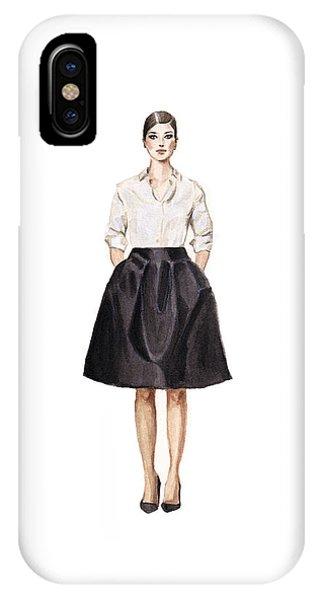 Carolina Herrera Classic Look IPhone Case