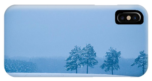 Carolina Snow IPhone Case