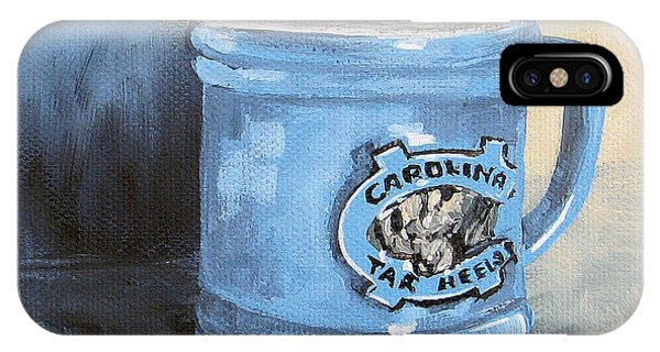 Carolina Tar Heel Coffee Cup IPhone Case