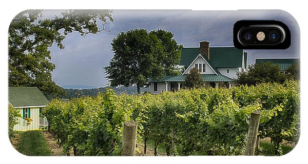 Carolina Vineyard IPhone Case