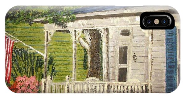 Carols House IPhone Case