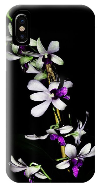 Carol's Orchid IPhone Case