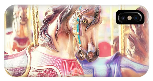 Carousel iPhone Case - Carousel  by Amy Tyler