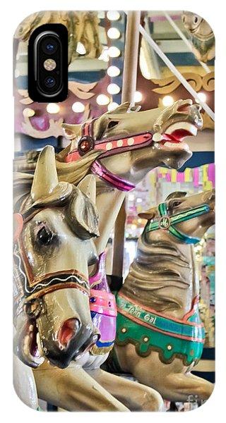 Carousel At Casino Pier IPhone Case