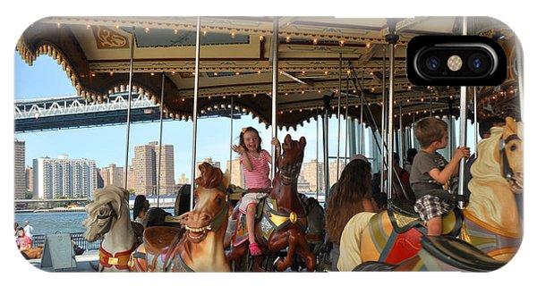 Carousel Brooklyn Bridge Park IPhone Case