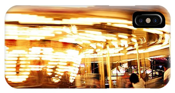 Carousel In Motion IPhone Case