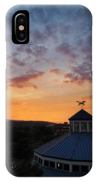 Carousel Sunset 2 IPhone Case