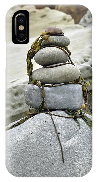 Carpinteria Stones IPhone Case