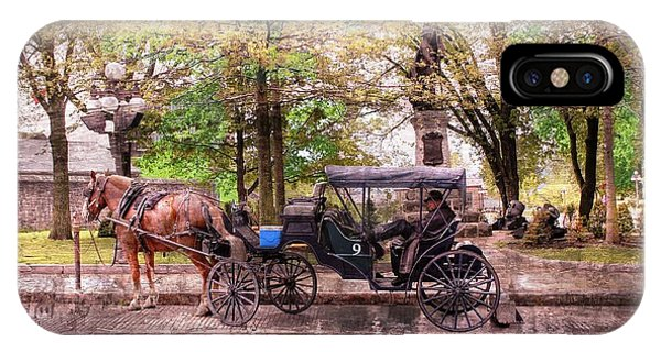 Carriage Rides Series 03 IPhone Case