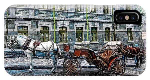 Carriage Rides Series 06 IPhone Case