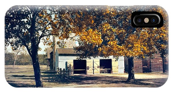 Carriage House At Batsto Village IPhone Case