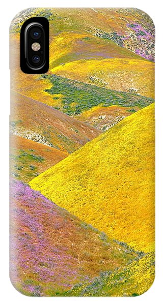 Carrizo Wildflowers Vertical IPhone Case