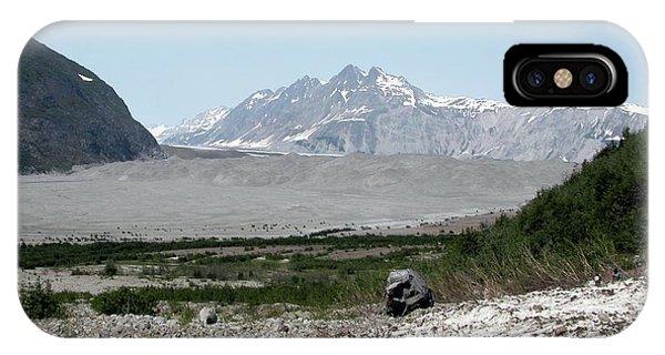Glacier Bay iPhone Case - Carroll Glacier by Bruce F. Molnia, Nsidc, Wdc/science Photo Library