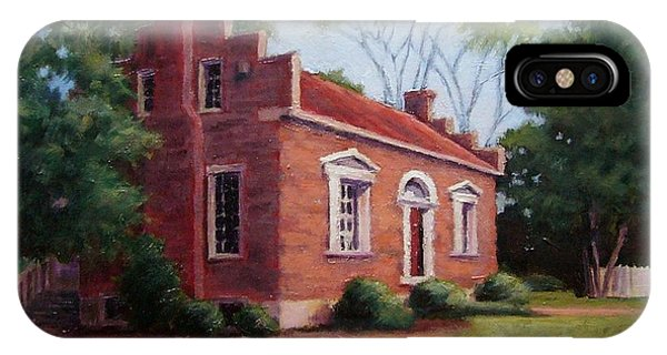 Carter House In Franklin Tennessee IPhone Case
