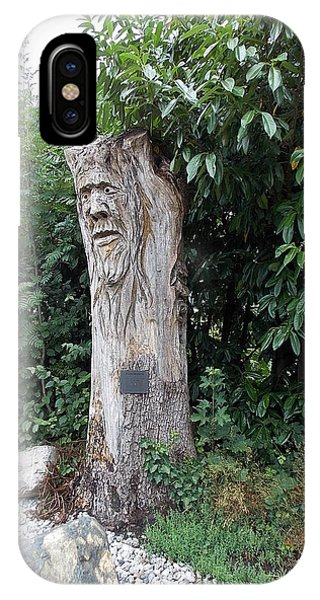 Carved Tree IPhone Case