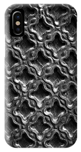 Carved Wood Texture IPhone Case