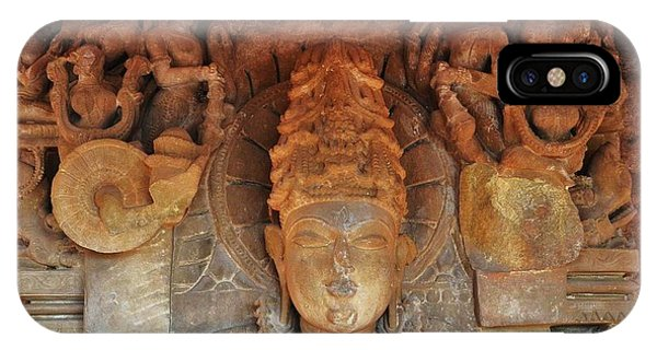 Statue At The Temple Of The 64 Yoginis - Jabalpur India IPhone Case