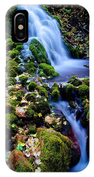 Nikon iPhone Case - Cascade Creek by Chad Dutson