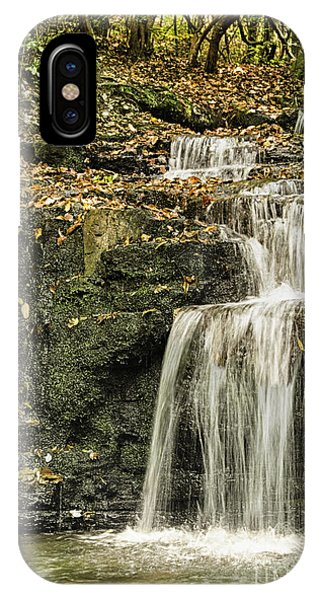 IPhone Case featuring the photograph Cascade Falls by Heather Roper