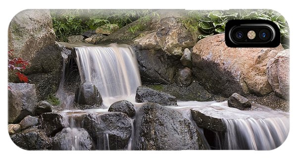 Rockford iPhone Case - Cascade Waterfall by Adam Romanowicz