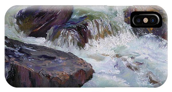 Cascades After Daniel Edmondson IPhone Case