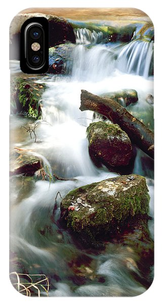 Cascades In Roman Nose State Park IPhone Case