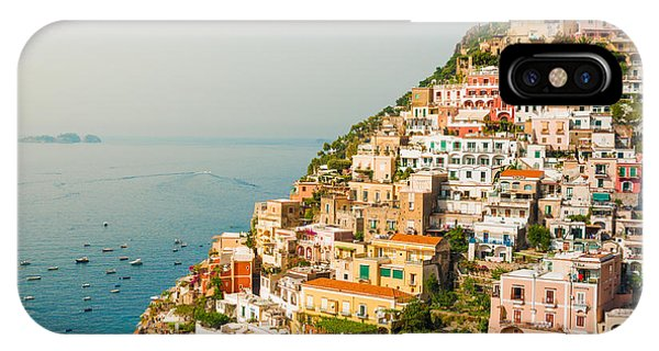 Cascades Of Positano City IPhone Case