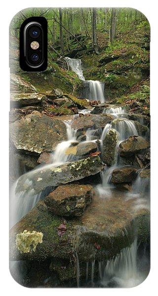 Cascading Creek Mulberry River Arkansas IPhone Case
