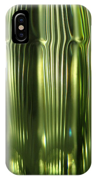 Cascading Green IPhone Case