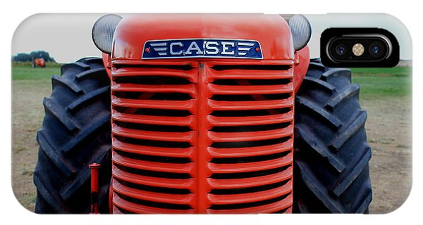 Case Tractor Grille IPhone Case