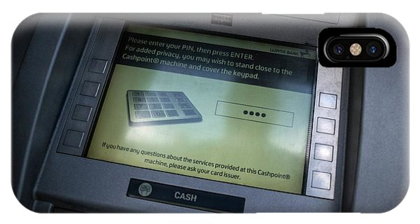 Cash Point Phone Case by Robert Brook